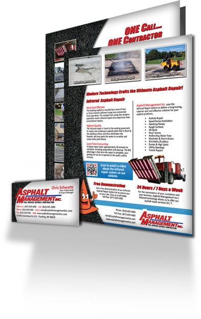 Print Media, Business Cards, Brochures