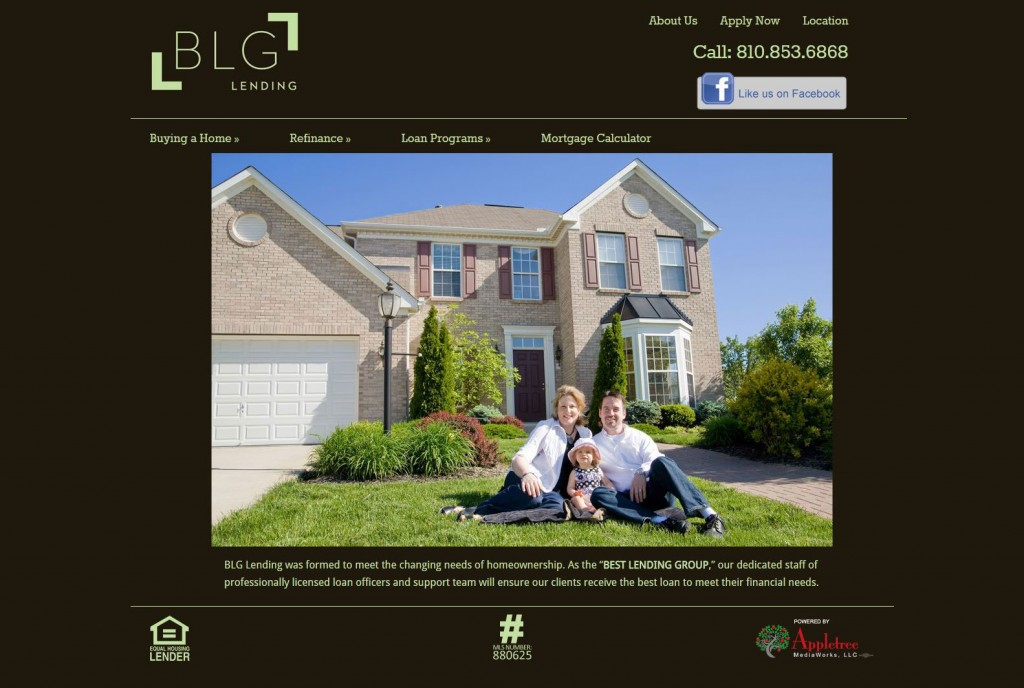 BLG-Lending WordPress Website