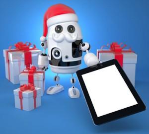 mobile device christmas