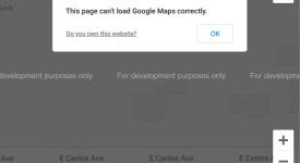Help, My Google Maps are Broken!