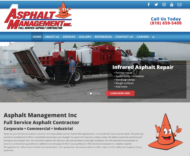 Asphalt Management Site