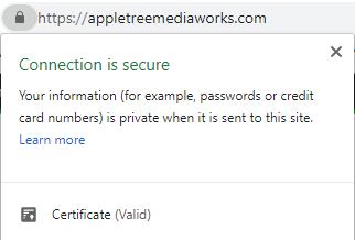 SSL Certificate Appletree