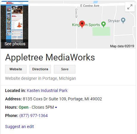 Appletree MediaWorks Google Listing